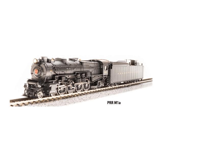 PRR Class M1a 4-8-2 Sound/DCC Pennsylvania RR #6775
