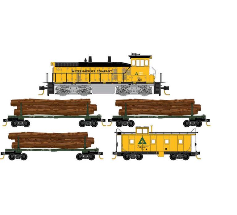 Weyerhaeuser Logging Train Set
