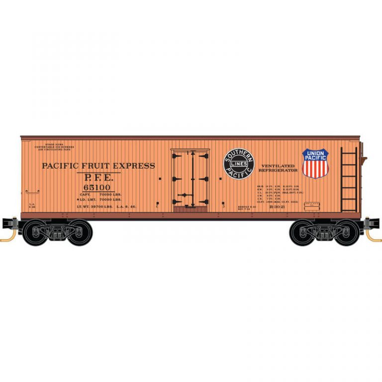 Pacific Fruit Express® 16-Car Reefer Set