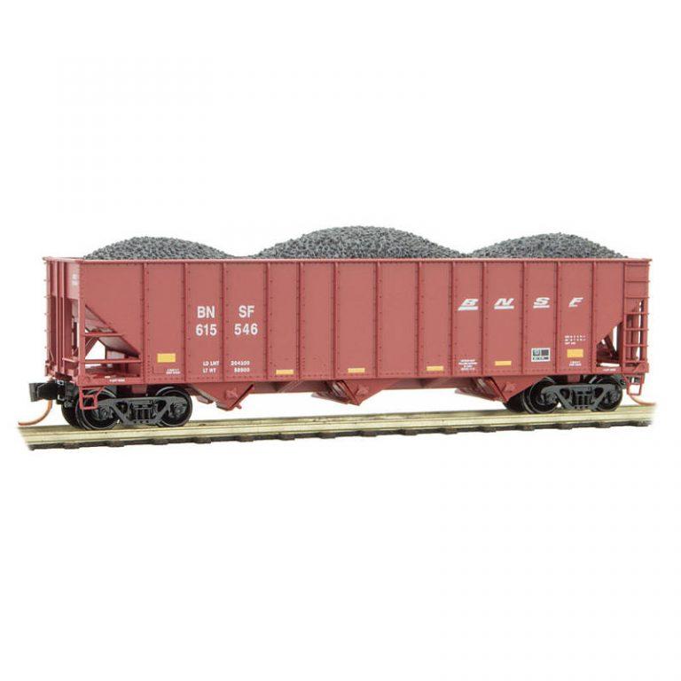 Burlington Northern Santa Fe with Coal Load RD#: 615546