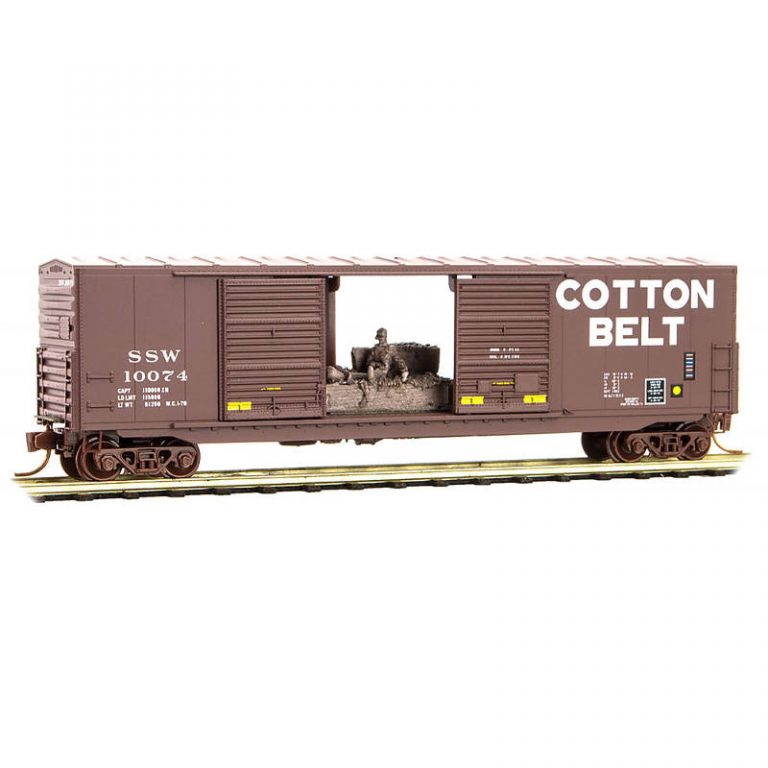 Cotton Belt® with Man On Haybale Load RD#: SSW 10074