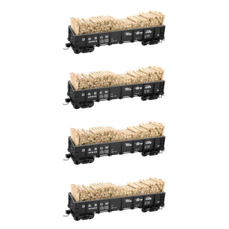 N D&RGW Runner Pack RD#: 46404, 46409, 46446, 46490
