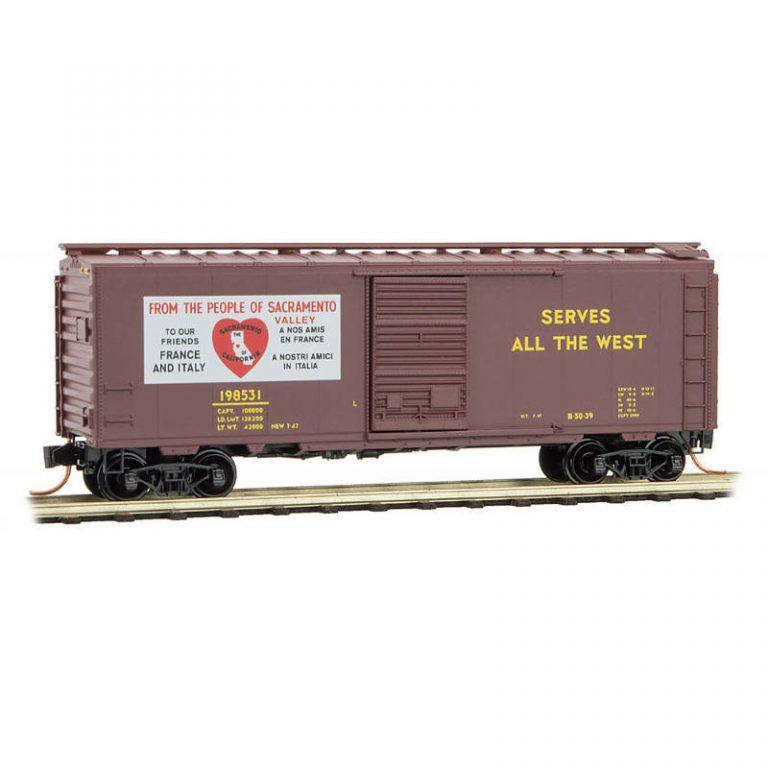 Friendship Train Series – Car #12: Union Pacific® 'Sacramento' RD#: 198531