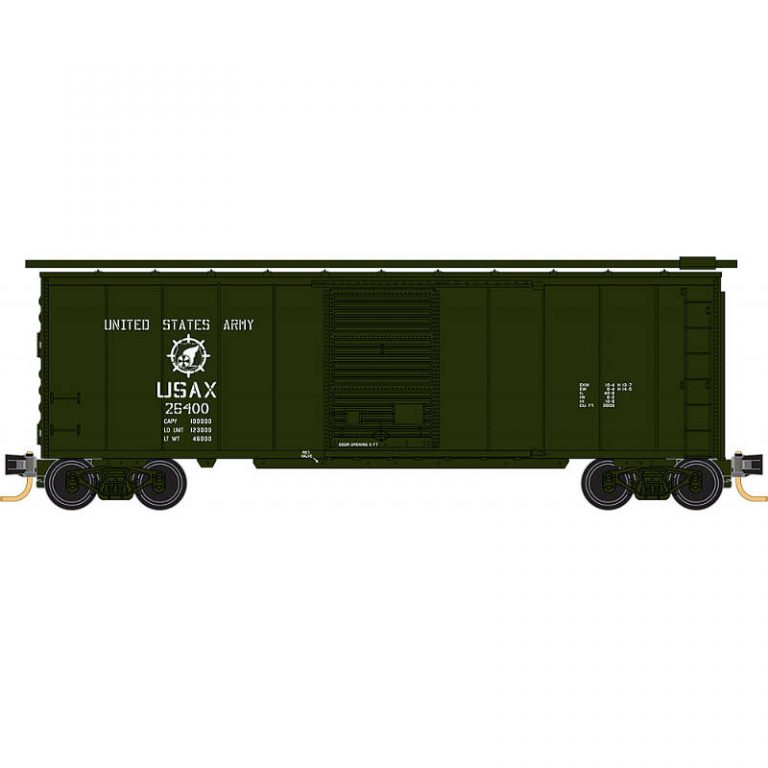 Military 40' Box Car – US Army Rd#26400