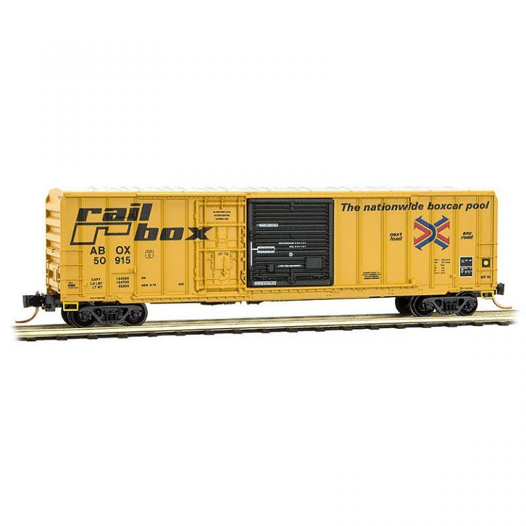 Railbox RD#: ABOX 50915