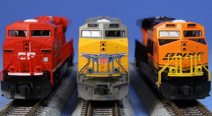GE ES44AC – Union Pacific #5380 - DC